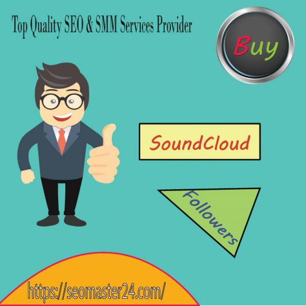 Buy SoundCloud Real Followers