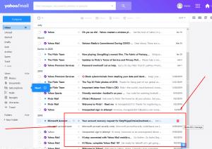 Old Yahoo Accounts